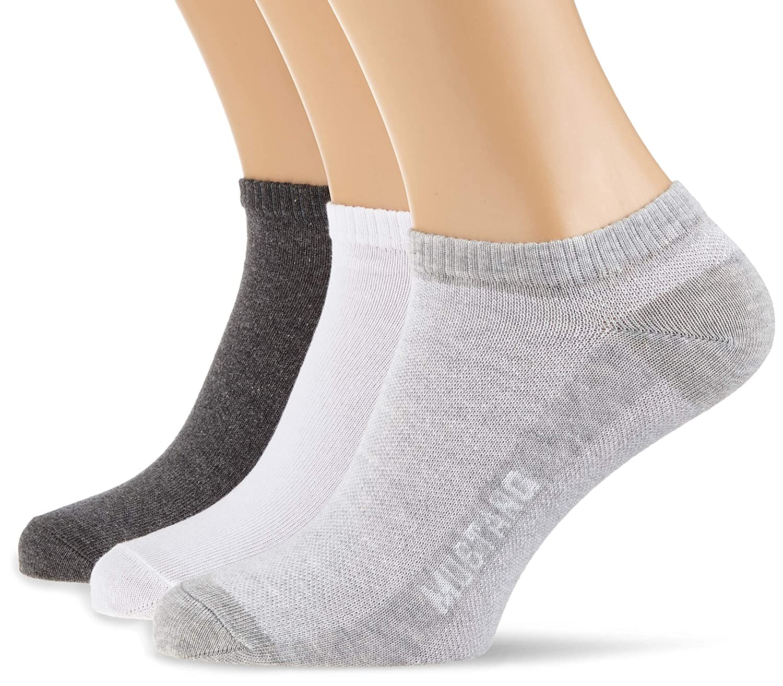 Mustang Socks Calze, Uomo Pacco da 3