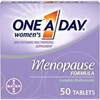 One A Day Women's Menopause Multivitamin with Vitamin A, Vitamin C, Vitamin D, Vitamin E and Zinc for Immune Health…
