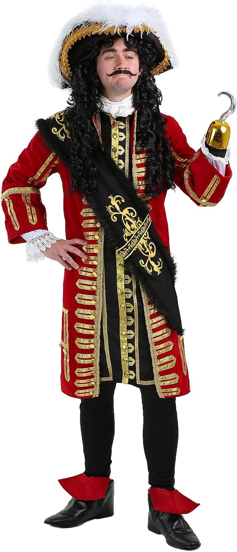 Elite Captain Hook Fancy Dress Costume Large: Amazon.es: Juguetes ...