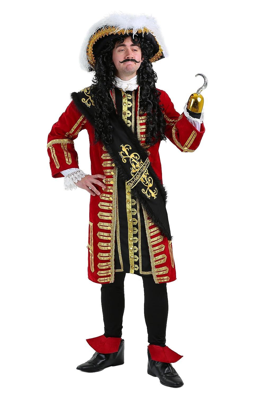Elite Captain Hook Fancy dress costume Large