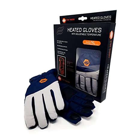 Machine Washable Thermal Gloves Stay Warm Apparel Rechargeable Heated Gloves for Cold Weather 3 Level Heated Gloves for Men /& Women Winter Gear for Hiking Cycling Commuting Playing