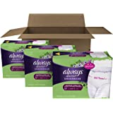 Always Discreet Incontinence Underwear for Women, Maximum Absorbency, Large, 51 Count