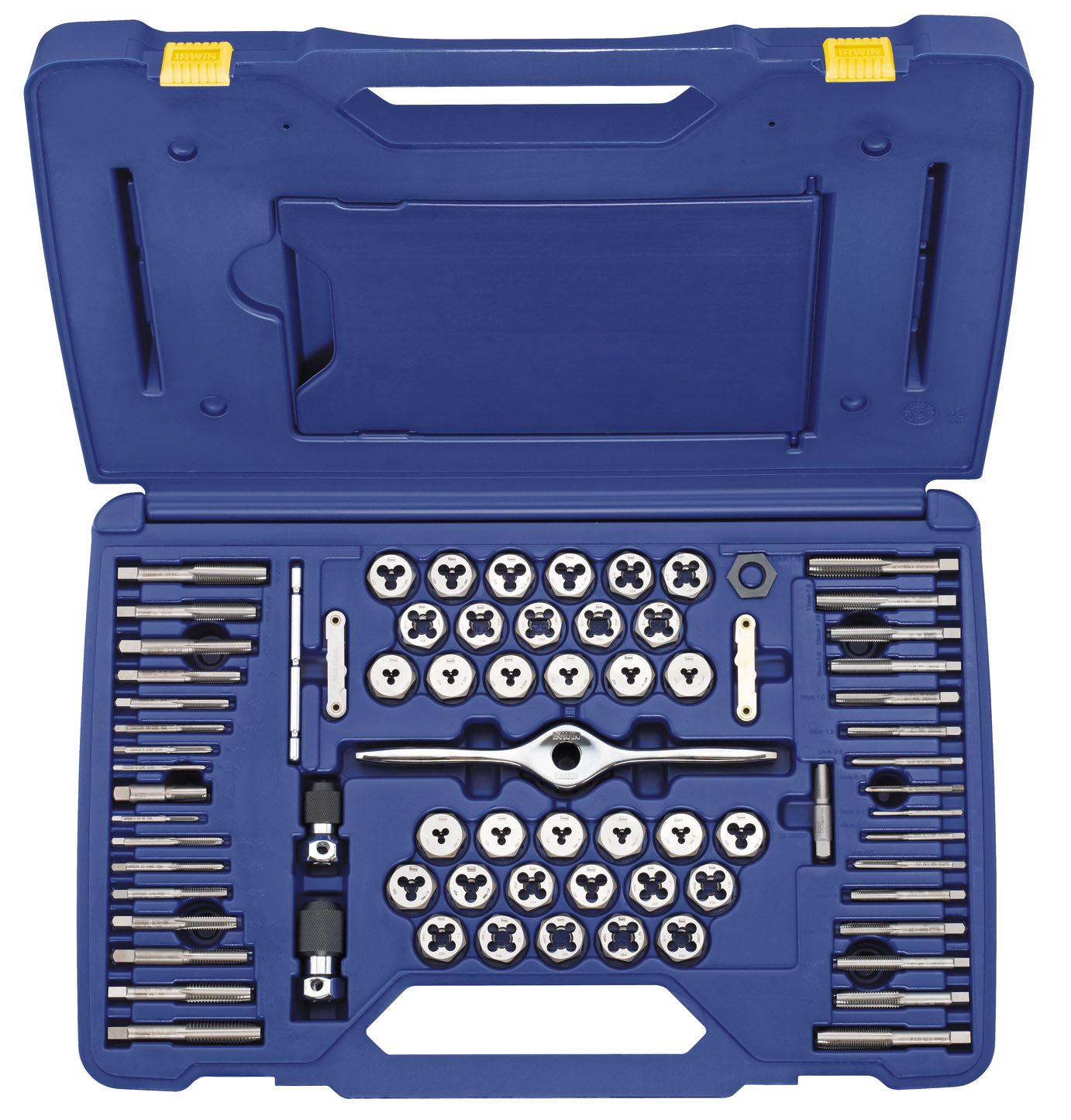 Irwin Tools 1841350 Performance Threading System Self-Aligning Tap and Die Set, 75-Piece by Irwin Tools