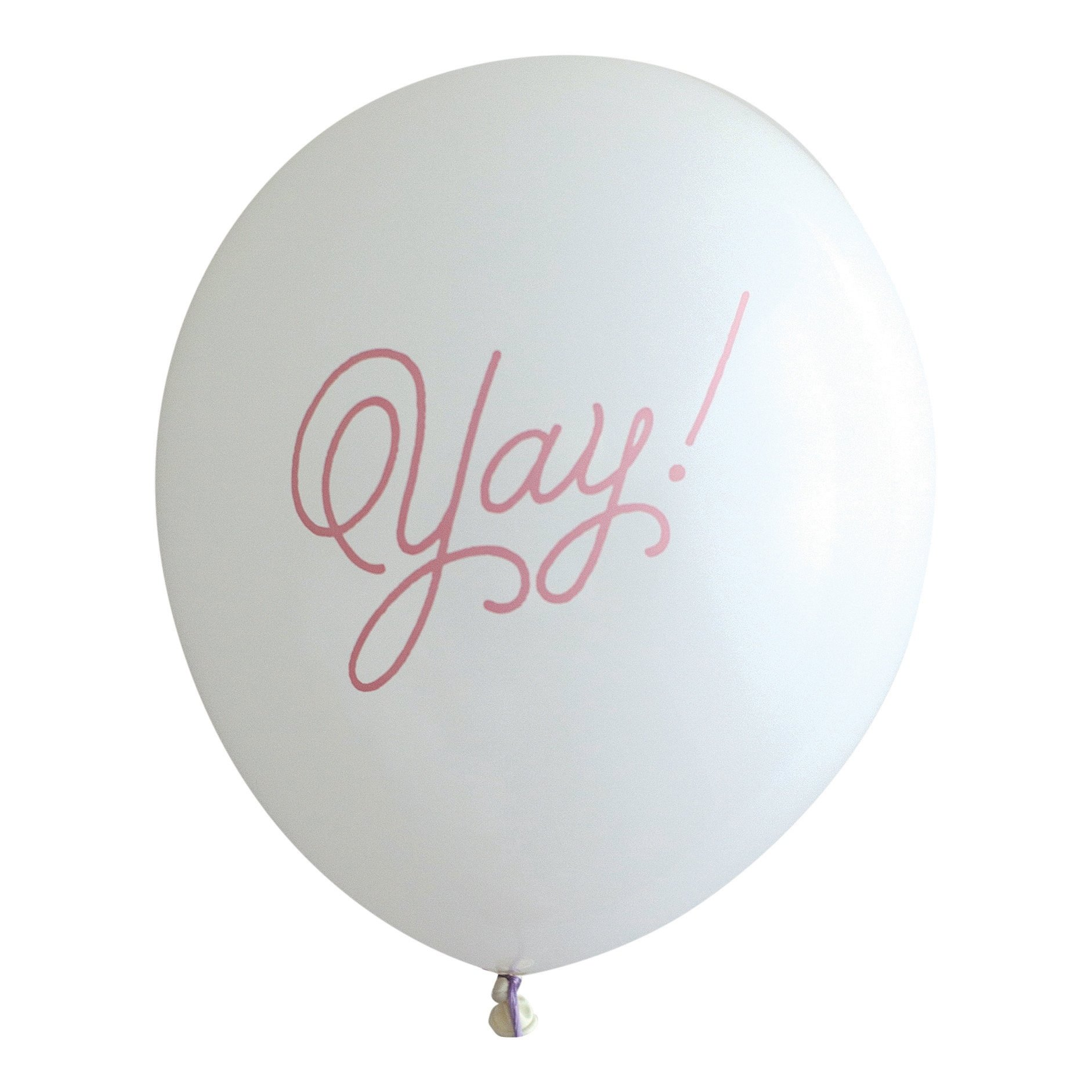 Guava Yay! Party Balloons, made in America by REVEL & Co, Latex Party Balloons