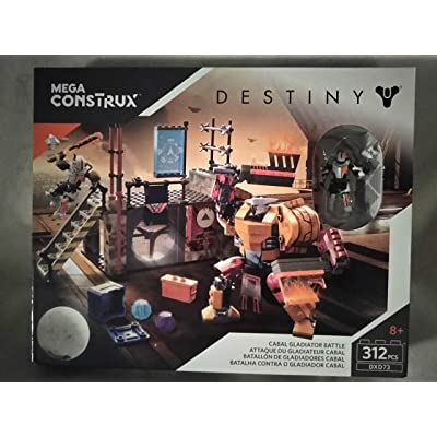 Mega Construx Destiny Cabal Gladiator Battle 312 PCS DXD73 Ages 8+ New in Box: Toys & Games