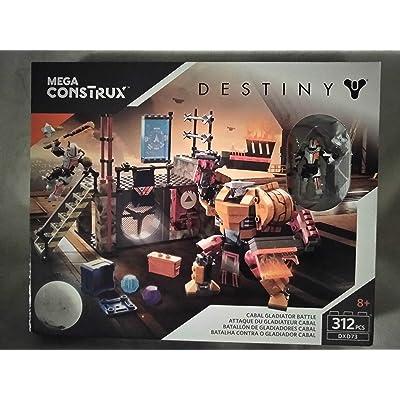 Mega Construx Destiny Cabal Gladiator Battle 312 PCS DXD73 Ages 8+ New in Box: Toys & Games