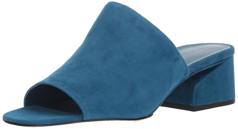 Via Spiga Women's Porter Slide Sandal B074CYPH52 5 B(M) US|Peacock Suede