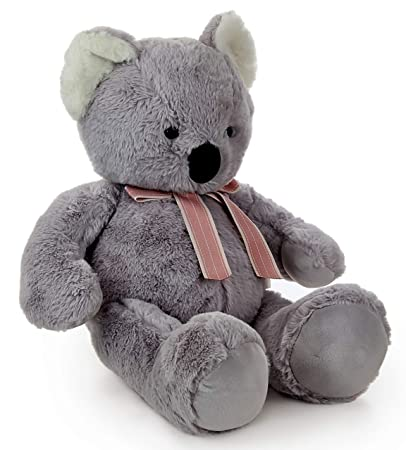 LOFA Koala Bear Plush Toy (Dark Grey)