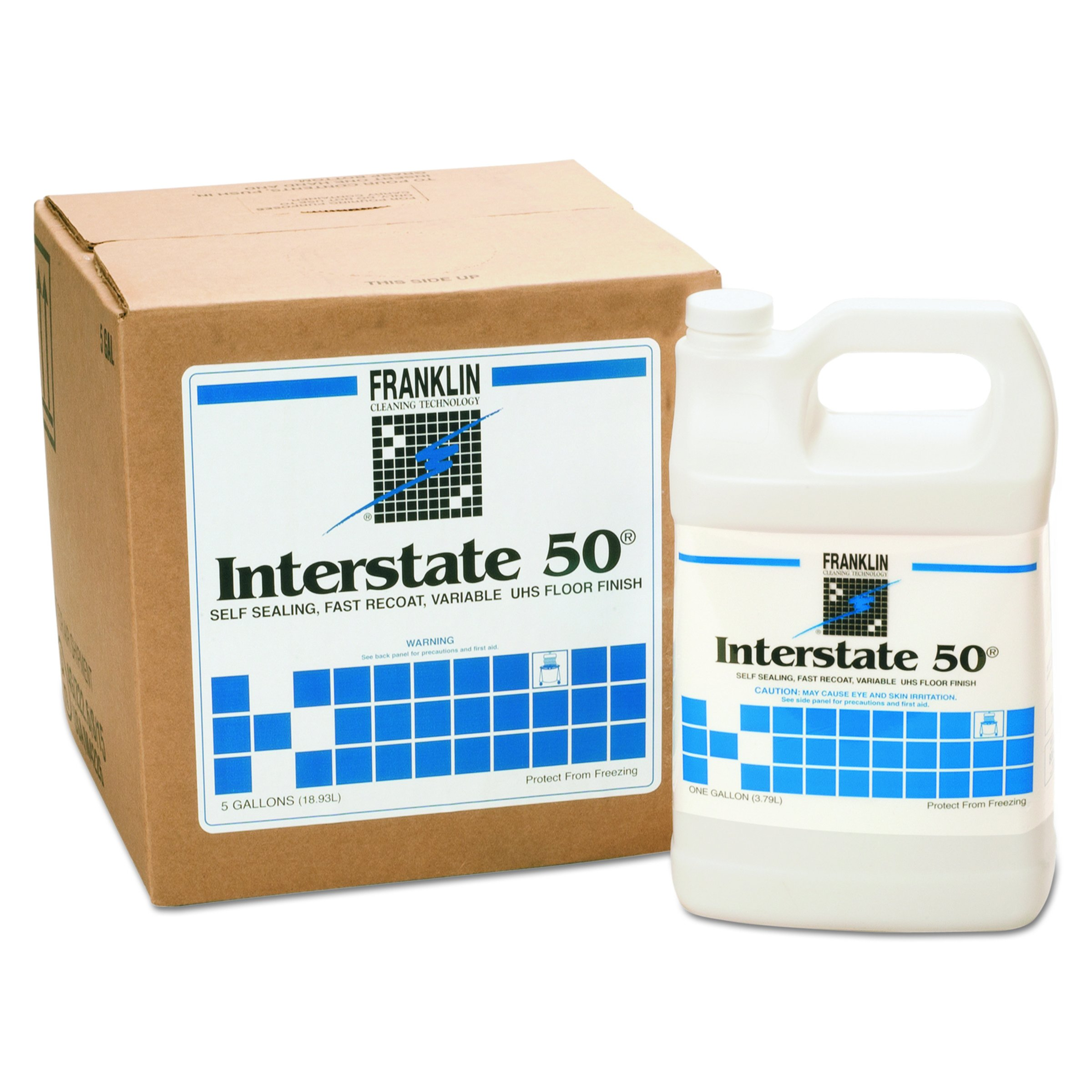 Franklin Cleaning Technology F195022CT Interstate 50 Floor Finish, 1 Gallon Bottle (Case of 4 Bottles)