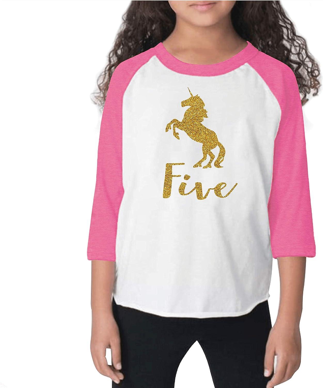 Five and Fabulous CUSTOM AGE Unicorn Birthday Party BLACK Unicorn Birthday Outfit S52 5BD Unicorn Shirt Unicorn Birthday