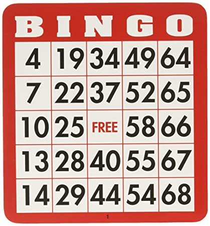 Cards Bingo Games com Toys amp; Huntar Co By 100 Amazon