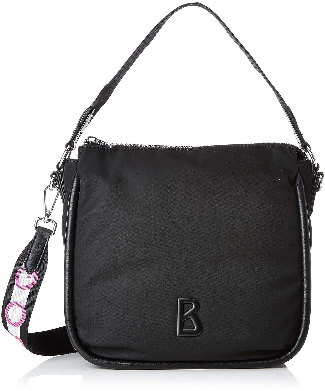 Black Bogner Women's Lech Isalie Hobo Mvz Shoulder Bag