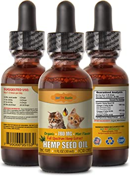 Amazon.com: Omega 3 ácidos grasos para gatos - Cat. Hemp ...