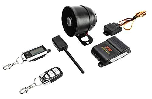 Crimestopper SP-302 SecurityPlus 2-Way Deluxe Alarm/Keyless Entry System