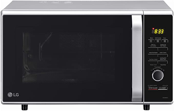 LG 28 L Convection Microwave Oven (MC2886SFU, Silver, Diet Fry)