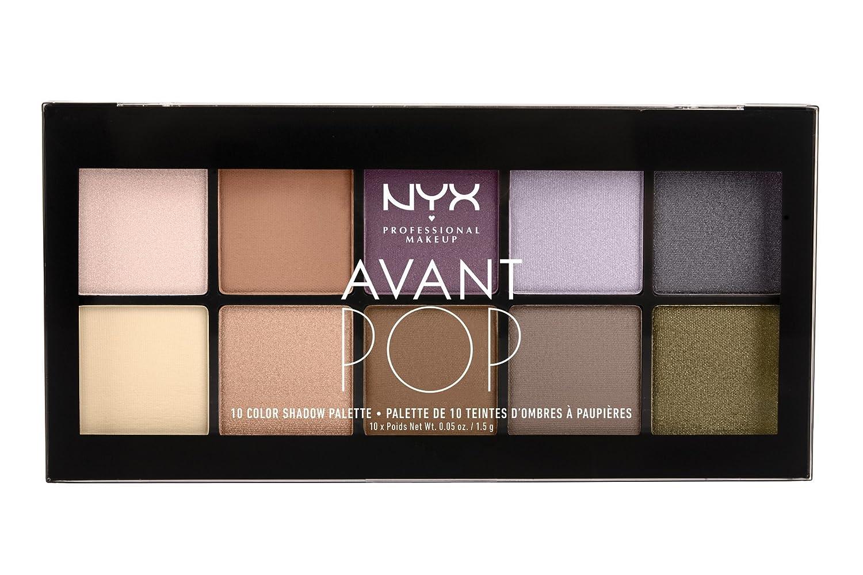 NYX Professional Makeup Avant Pop! Shadow Palette
