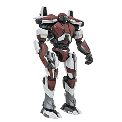 DIAMOND SELECT TOYS Pacific Rim Uprising: Guardian Bravo Select Action Figure: Toys & Games