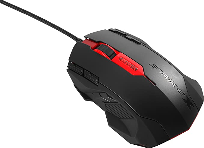 Aerocool Strike X Blast - Ratón con 6 Botones, USB: Amazon ...