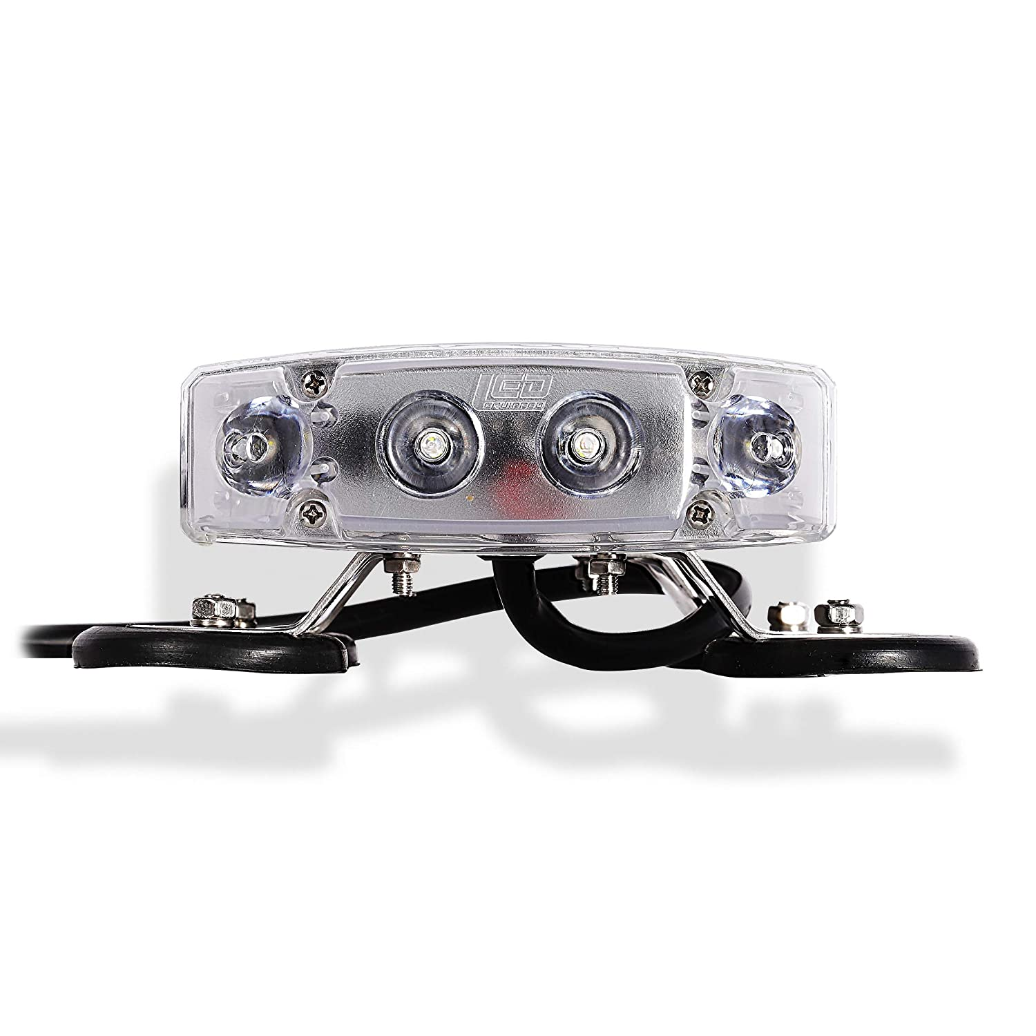 2006 Freightliner CENTURY CLASS DAYCAB Side Roof mount spotlight -Black Driver side WITH install kit 6 inch LED