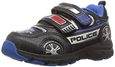 Stride Rite Vroomz Police Cruiser (Boys' Toddler-Youth) MtUVl1Adq