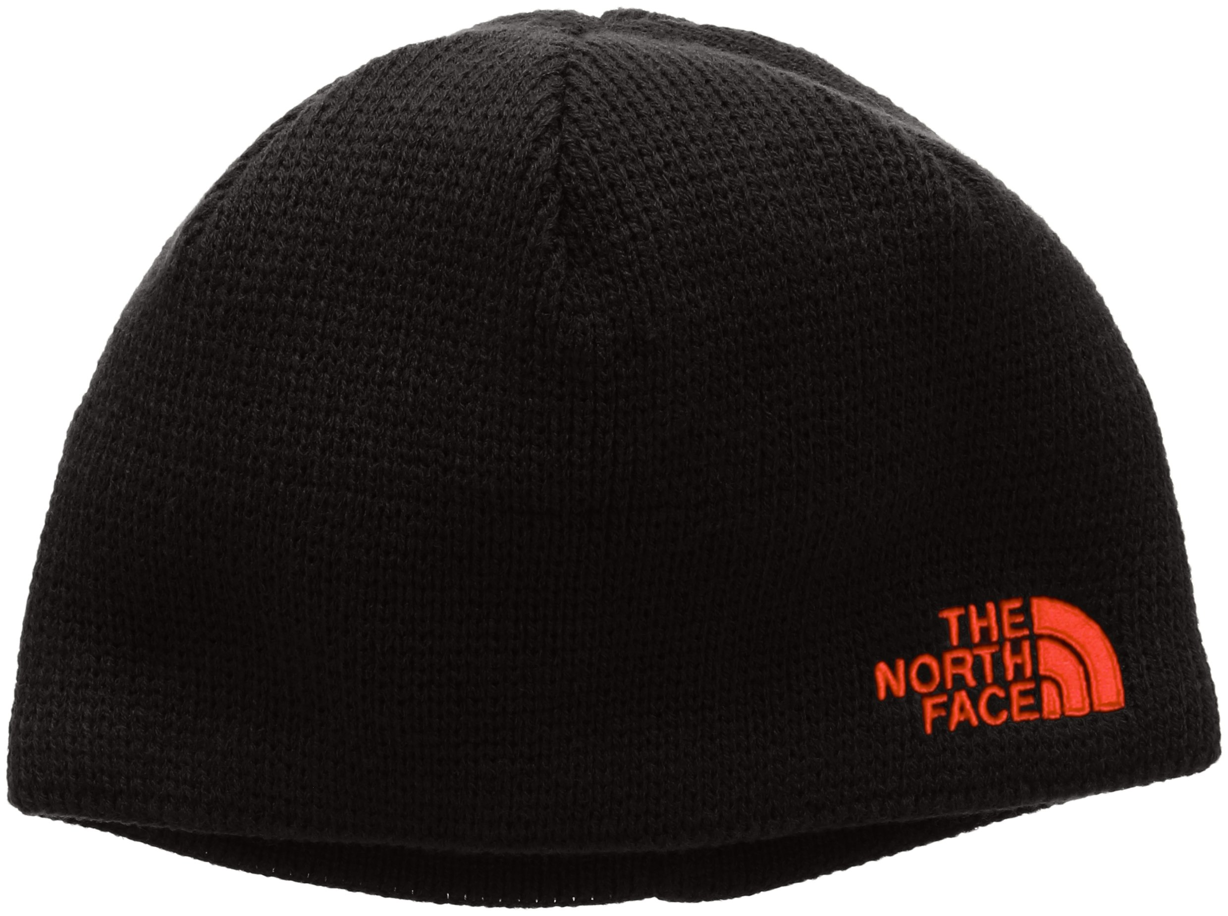 The North Face ''Bones'' Beanie (Youth Sizes) - black/red, medium