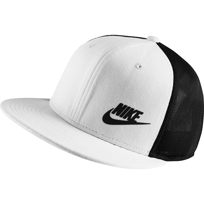 Amazon.com  Nike Mens Tech True Snapback Hat White Black  Sports   Outdoors 28a798c689ae