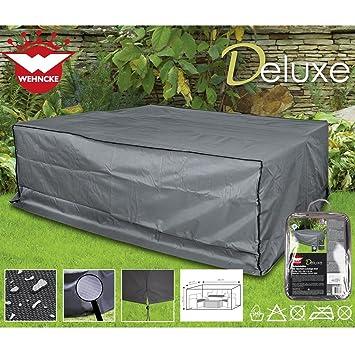 Deluxe Schutzhülle für Garten Lounge Set, 240x200cm Polyester 420D