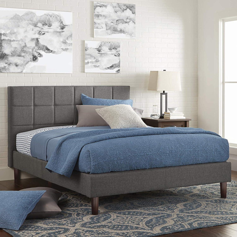 Better Homes and Gardens Knox Upholstered Platform Bed (King)