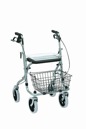 Drive Medical WA015 Migo Steel - Andador con cesta (4 ruedas ...