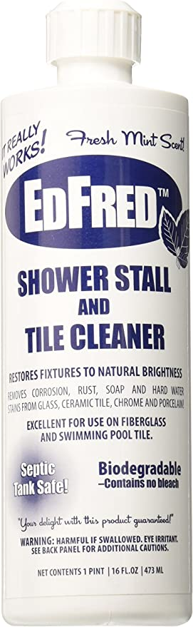 Edfred 63817 Stall and Tile Cleaner, 16 oz   Tile Grout Cleaners