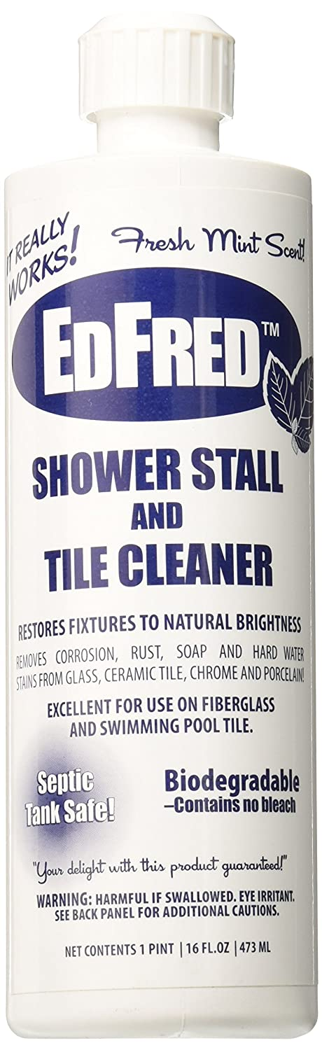 Edfred 63817 Stall And Tile Cleaner, 16 oz Jensen