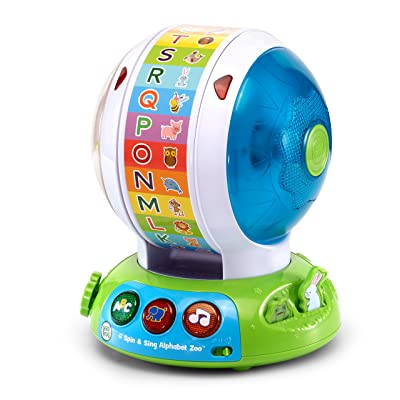 LeapFrog Spin and Sing Alphabet Zoo: Toys & Games