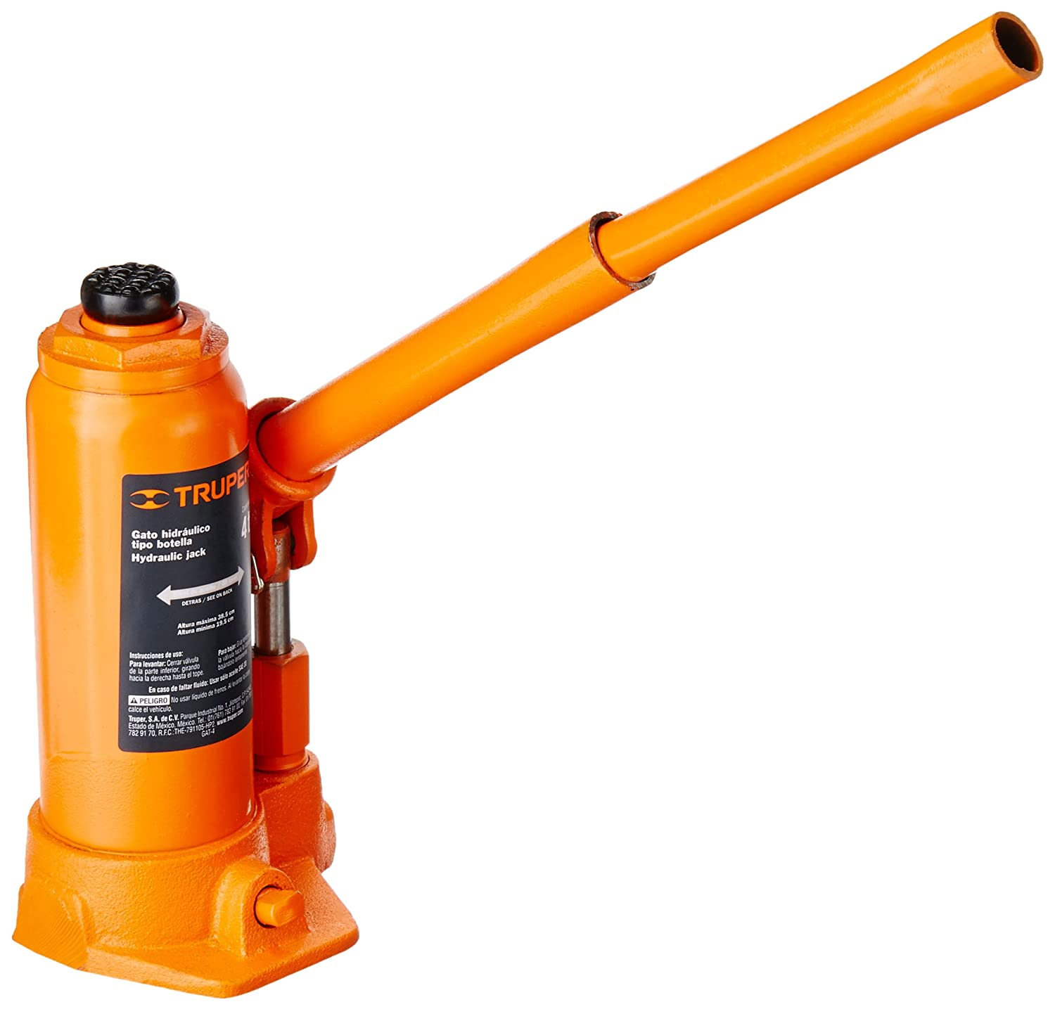 Amazon.com: TRUPER GAT-4 4-Ton Hydraulic Bottle Jacks 15 5/32