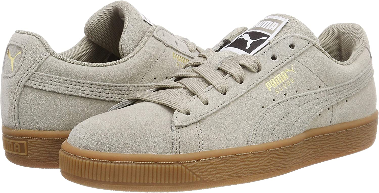 Puma Suede Classic Low-Top Sneakers 5.5 UK 5.5 UK Elephant Skin Team Gold