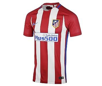 Nike Atlético de Madrid M Nk Mtch JSY SS Hm - Camiseta de Manga Corta para Hombre, Color Rojo, Talla 2XL: Amazon.es: Deportes y aire libre