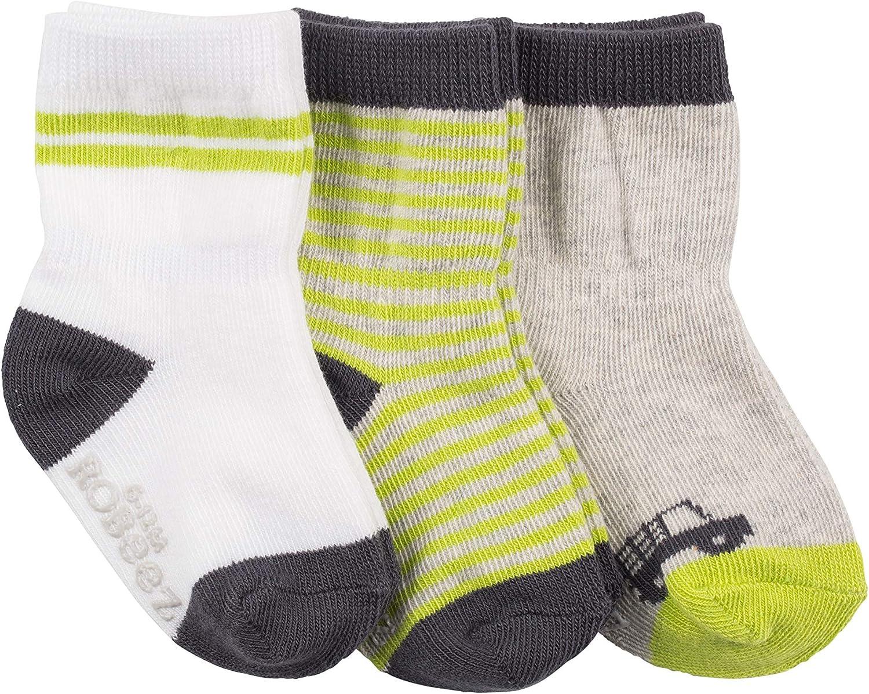 Robeez baby-boys 3-pack Socks Casual Sock