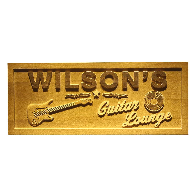Amazon.com: AdvPro Wood Custom wpa0057 Name Personalized Guitar ...