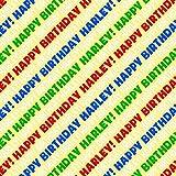 Amazon.com: Chevy Feliz cumpleaños rollo de Premium Papel de ...
