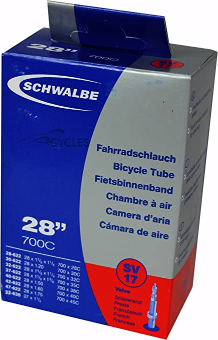 Schwalbe Vélo 20 X 1.5-2.5 Presta Valve Interne Tube