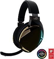 Audífonos Gamer ASUS ROG Strix Fusion 500 con DAC ESS de alta fidelidad, amplificador ESS, micrófono digital, iluminación LE