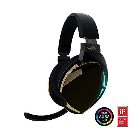 ROG Strix Fusion 500 Virtual 7 1 LED Gaming Headset with Hi-Fi Grade ESS  DAC, ESS Amplifier, Digital Microphone and Aura Sync RGB Lighting