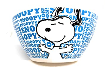 """Amazon com: Peanuts Snoopy Words Collection 6"""" Gibson Bowl"""