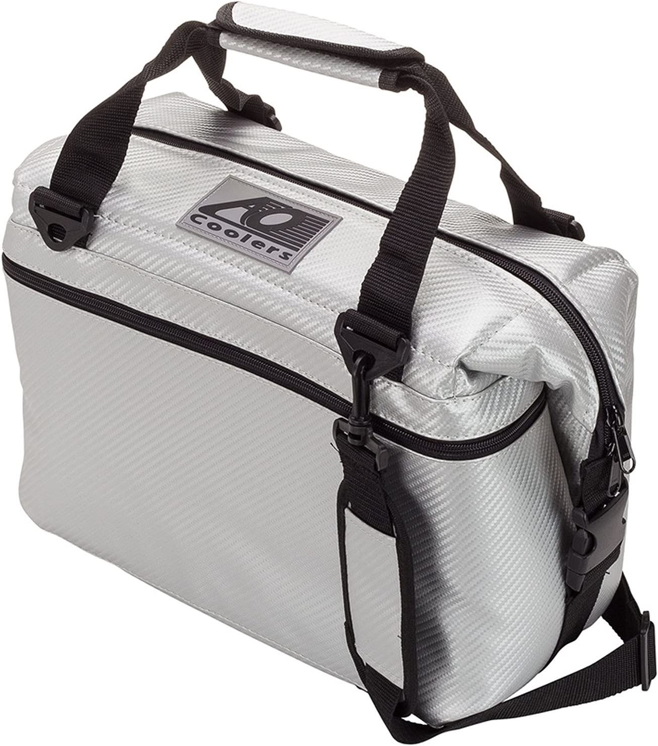 AO Coolers Carbon Soft Cooler with High-Density Insulation