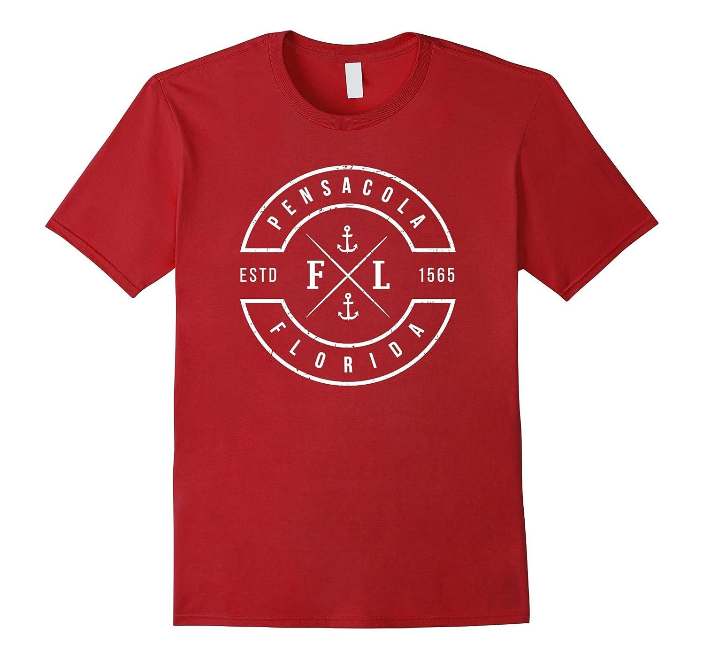 Pensacola Florida T Shirt Emblem