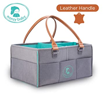 amazon com diaper caddy nursery storage bins changing table