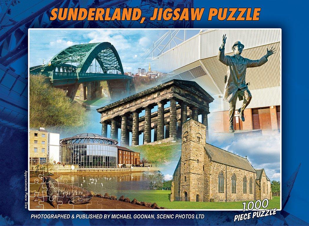 The Sunderland 1000 Piece Jigsaw Puzzle (2015 Edition): Amazon.co ...