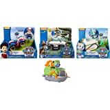 Paw Patrol Everest's Rescue Snowmobile,, Jungle Rescue, Tracker's Jungle Cruiser & Paw Patrol Ryder's Rescue ATV, Including a Free Rescue Racers, Rocky's Boat