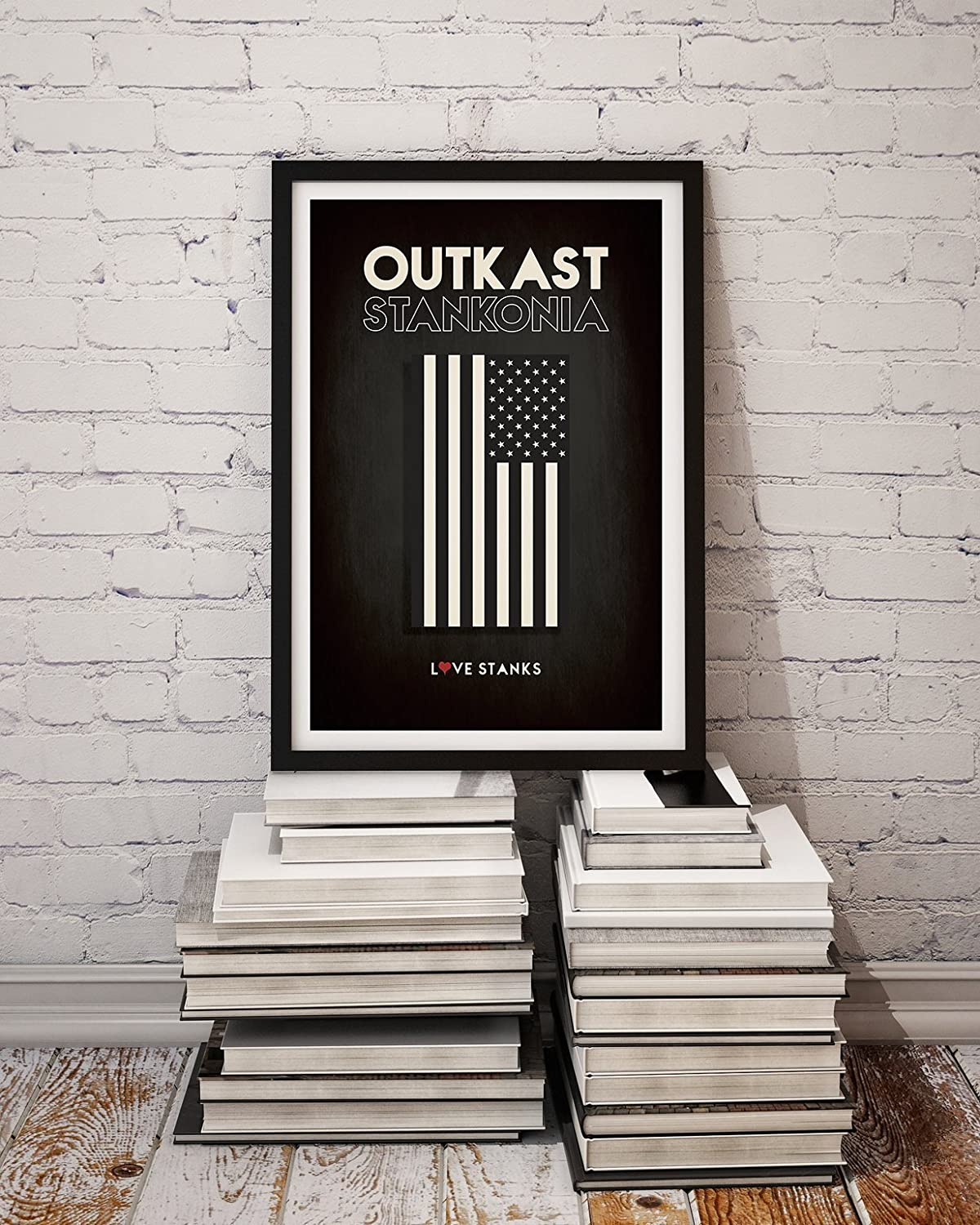 F1126 Music Album Hip Hop Outkast ATLiens Silk Poster 24x36 40In