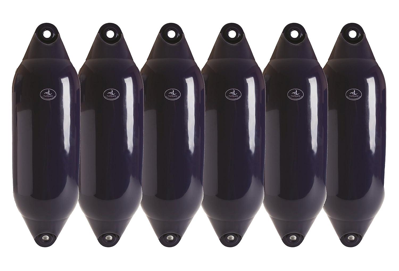 8 X 20cm Black 26 6 X Hurricane Fenders HF04-66cm