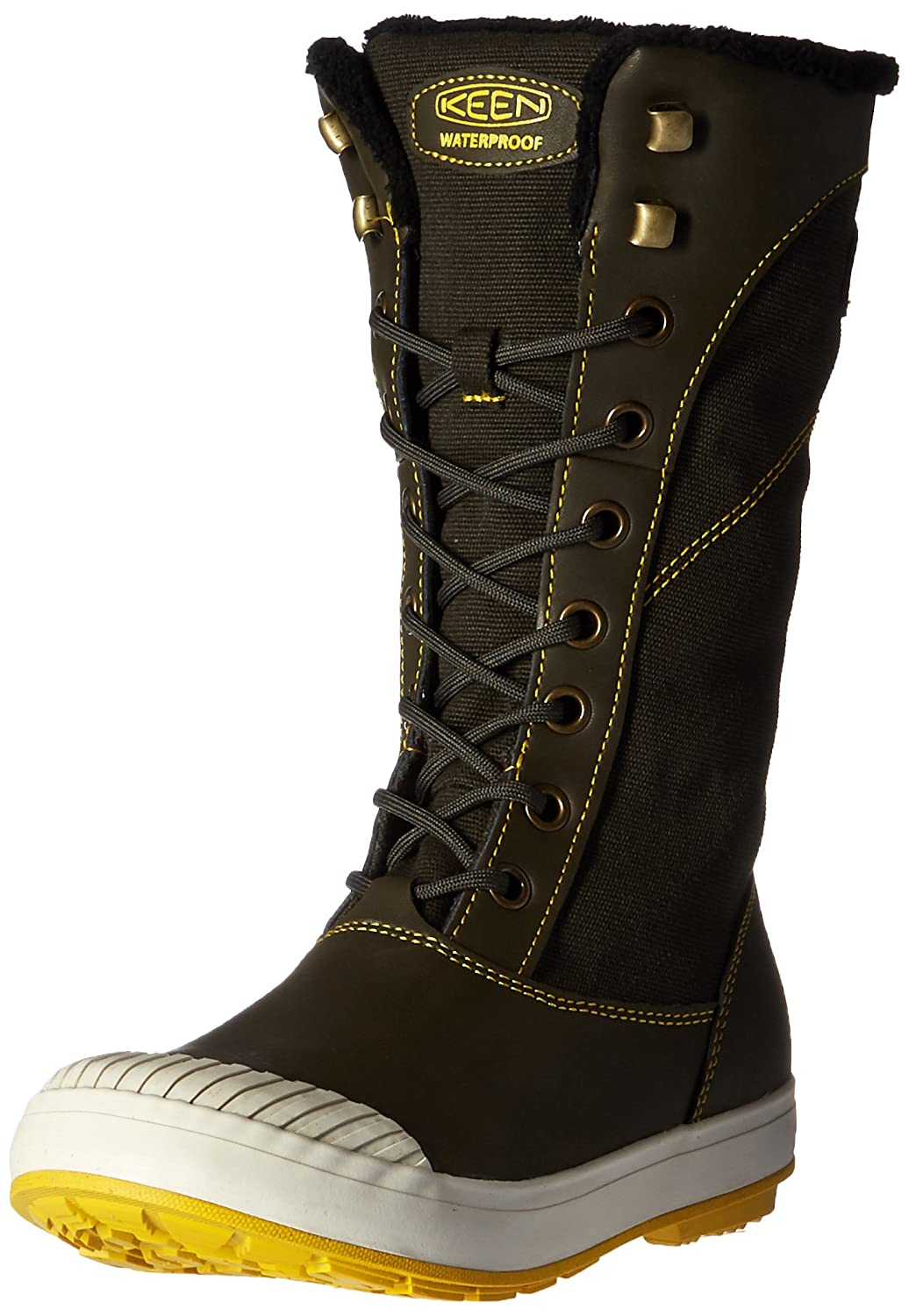 bdb954cdb15 Keen Women's Elsa Tall Canvas Waterproof Boot